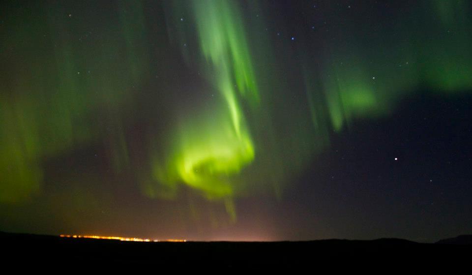 Norhern Lights in Iceland 2012 (Photo By Börkur Hrólfsson)