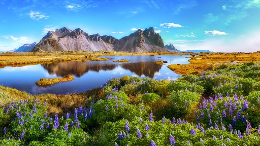 Come see Stokksnes Cape in Vestrahorn when you visit Iceland