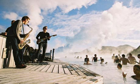 Iceland Airwaves - Blue Lagoon Party (Photo from passportmagazine.com)