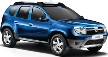 10.P - Dacia Duster 4WD or similar - Manual -