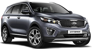 12.J - Kia Sorento 4WD or similar - Automatic -