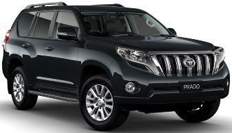 13.K - Toyota Landcruiser 4WD or similar - Automatic -