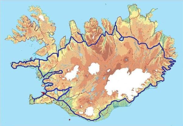 Iceland With 4x4 Car Al