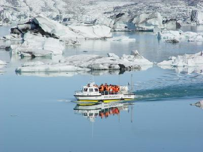 Touris Place Information For Glacial Lagoon Boat Tour