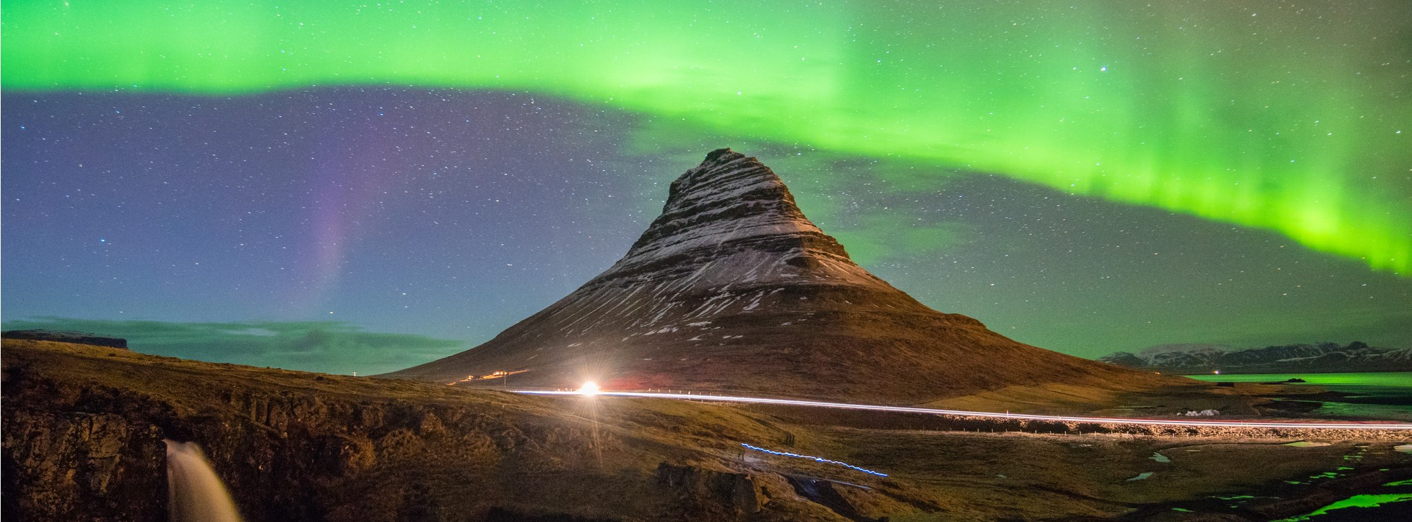 Iceland northern lights tour pakages kirkjufell